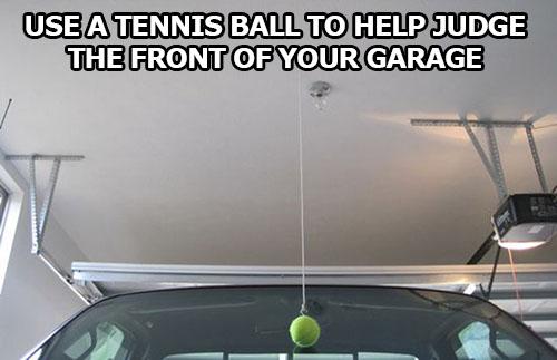 life-hack-cars-tennis-ball-garage