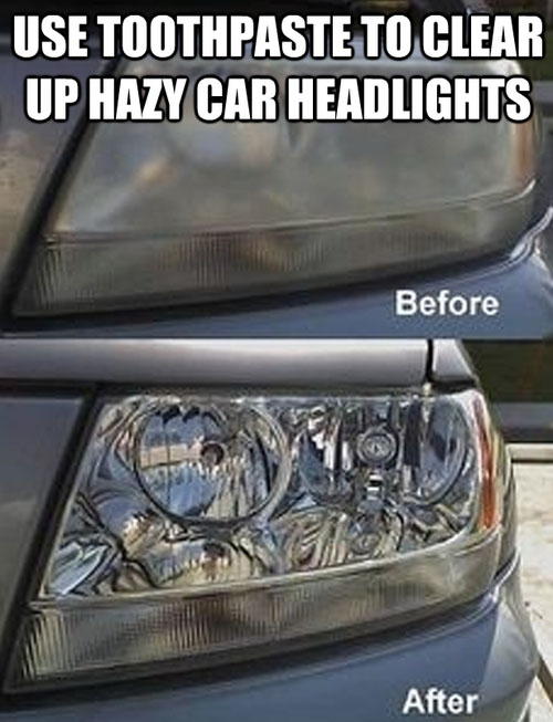 life-hack-cars-toothpaste-clean-headlights